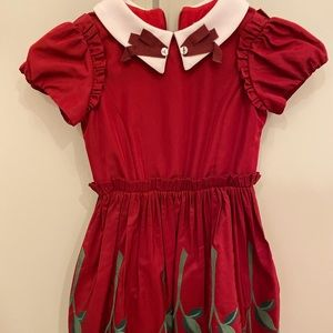Girls dress Monnalisa new with tags size 6